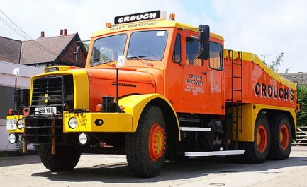 Scammell Contractor orange yellow