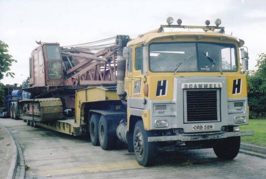 scammell crusader hill
