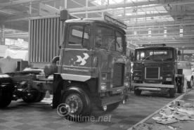 Scammell Crusader looks very thin or is it just tall