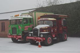 Scammell Crusader (OBU 59P) Victorian funfair vehicles at Tatton Park