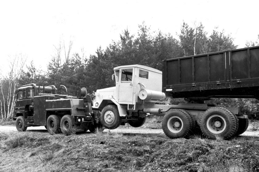 Scammell Crusader Wrecker (71B - 70F ( Ex Jibup ))