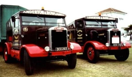 Scammell Dragon and Gladiator Paignton 2000 AD