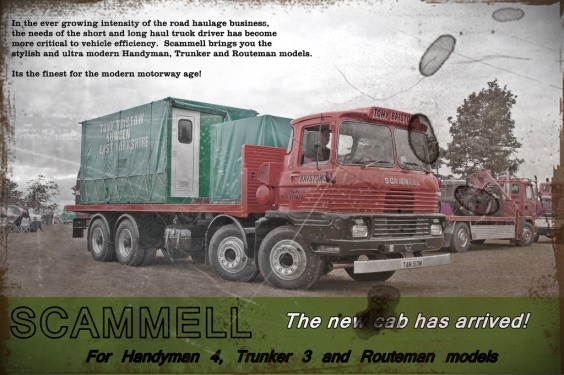 Scammell Garage sign