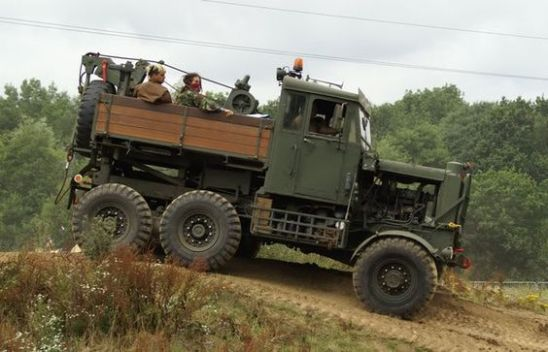 Scammell, good old REME Recovery