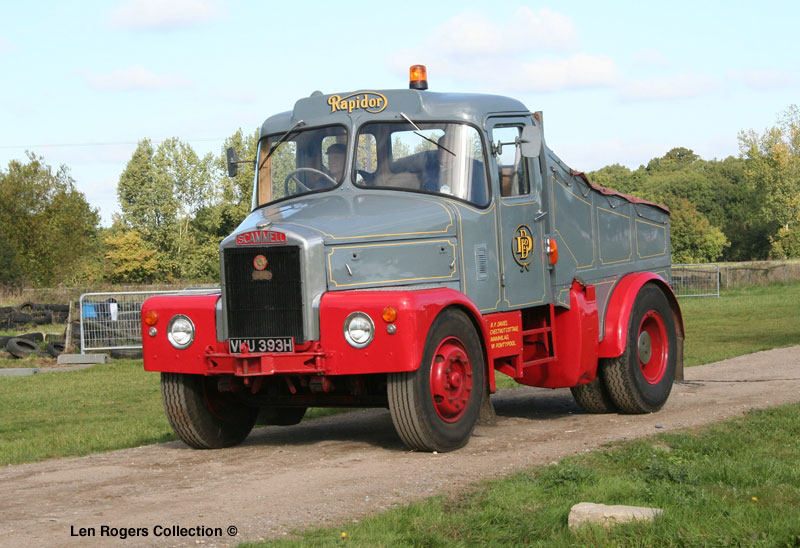Scammell Highwayman. Rapidor. This model was very popular in the British heavy haulage industry. Rapidor