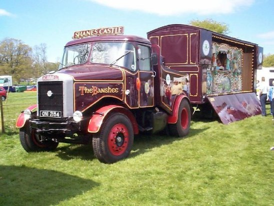 Scammell Highwayman Shanes Casle The banshee
