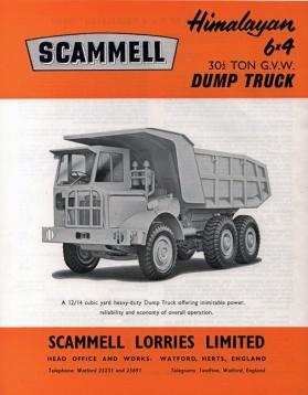 Scammell Himalayan Dump Truck a
