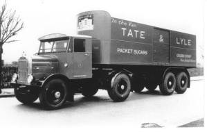 scammell lorry from tate's