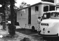 Scammell Lorry with Library Service