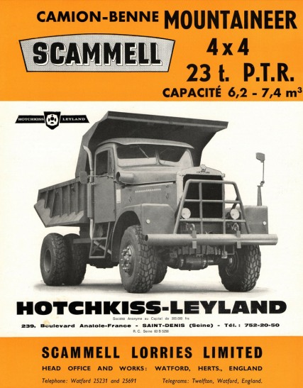Scammell Mountaineer - Hotchkiss leyland