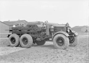 Scammell Pioneer, 6 x 4, Artillery Tractor