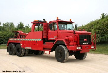 Scammell S 24. This ex army Landtrain has left hand drive and is ideal for heavy duty recovery in civilian use
