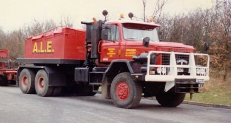 Scammell S24 6x6 Heavy Haulage Tractor