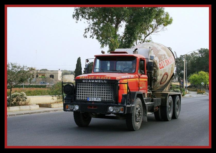 Scammell S24 mixer truck