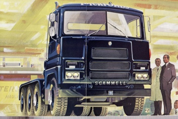 Scammell Samson 8x4 Tractor drawing