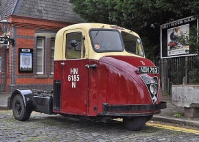 Scammell Scarab -3 Wheeled Truck & The Speed of Sound