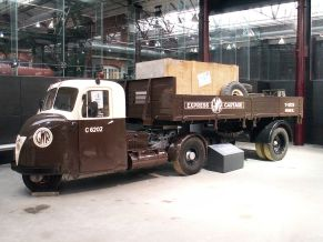 Scammell Scarab truck C 6202 in the STEAM-Museum, Swindon, GB
