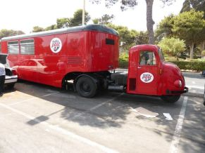 Scammell Scarab with mobile postoffice