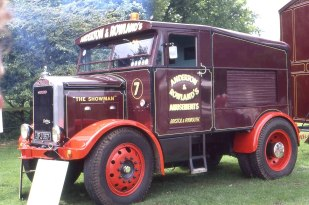 Scammell Showtrac JFJ 367 The Showman of Anderton