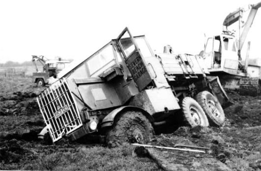 Scammell Wrecker, Severn Beach Garage