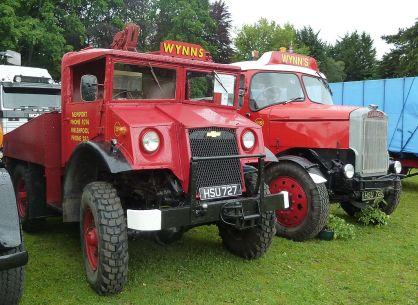 Wynn's haulage ballast tractors, Abergavenny