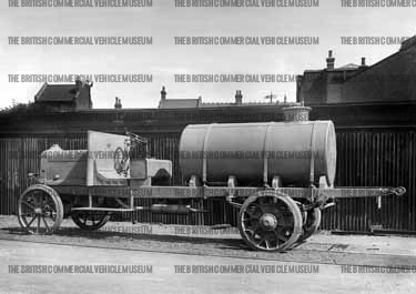 1910-1918 AEC n c Boiler attached to chassis