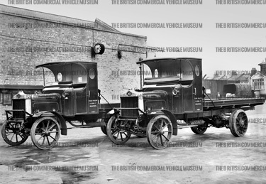 1910-1918 AEC n c lorry Isaac Holden and Sons Ltd., Bradford