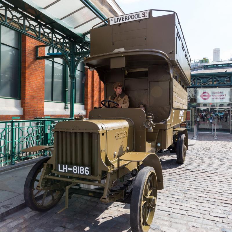 1914 AEC War battlebus 1