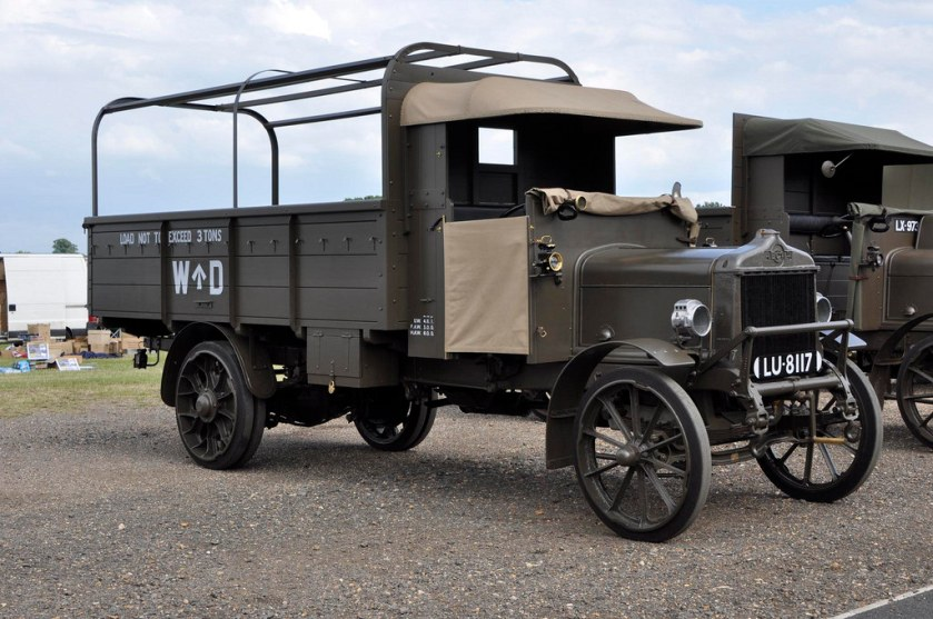 1917 AEC Y Type World War 1 Truck (LU8117)