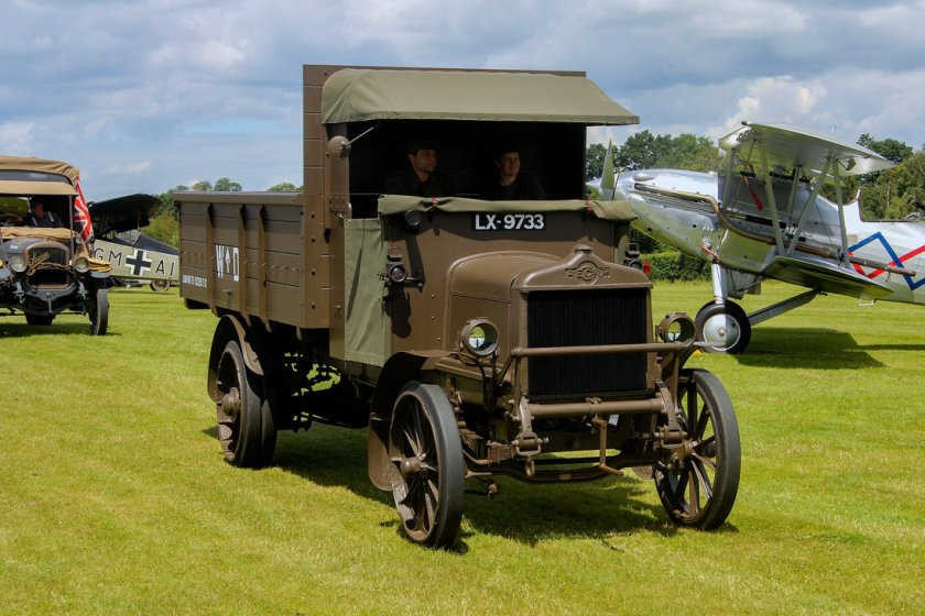 1918 A.E.C Y Type Lorry by Daniel-Wales-Images