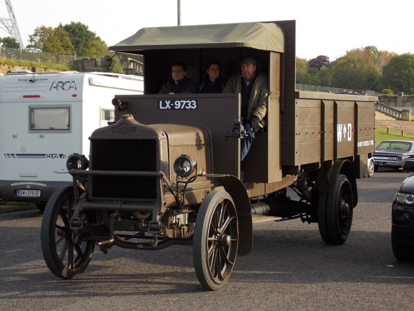 1918 A.E.C. Y-Type lorry