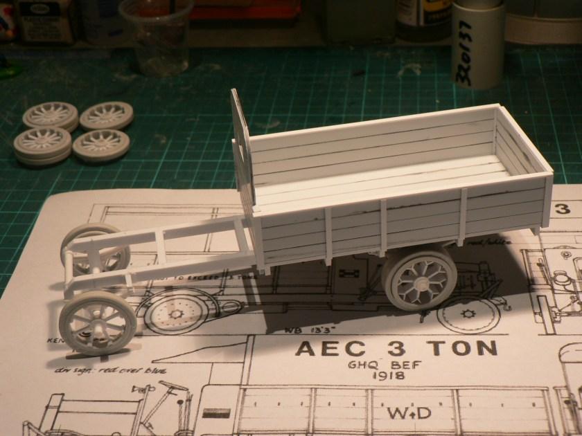 1918 AEC Lorry 3 Ton