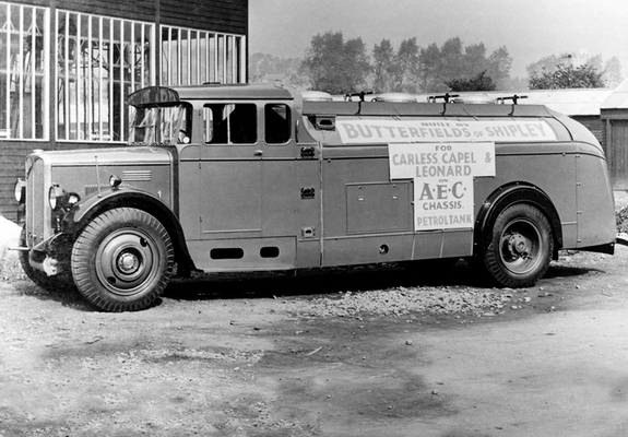 1931 Pictures of AEC Mandator Tanker 672 (1931–1932)