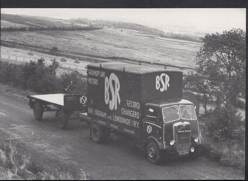 1935 AEC Mandator Flatbed