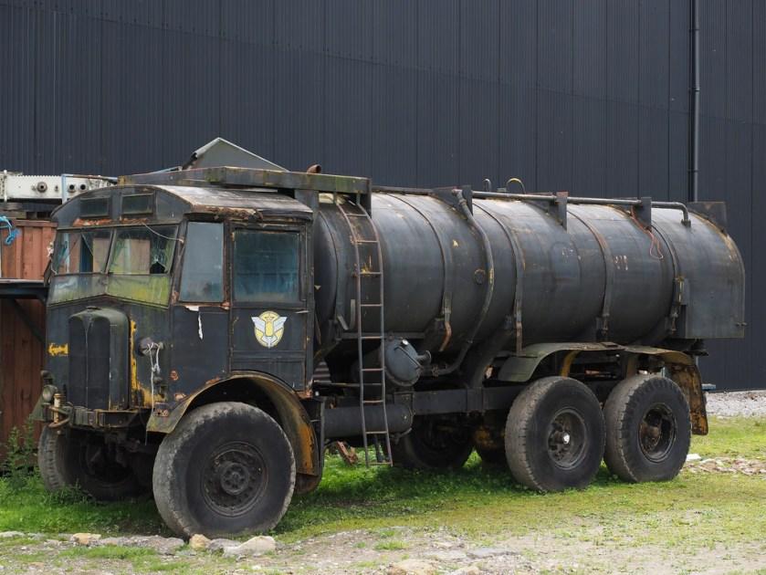 1936 AEC Matador Fuel Bowser