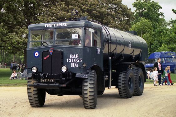 1939 AEC 6x6 fuel bowser DFP472 ex-RAF Bitteswell, chassis no 854399