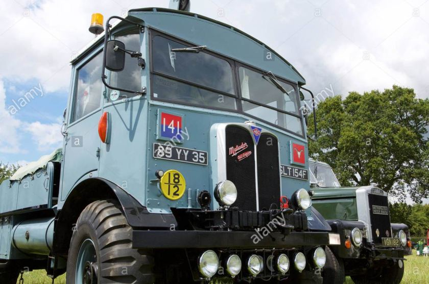 1939 AEC Matador A WWII artillery tractor built by the Associated
