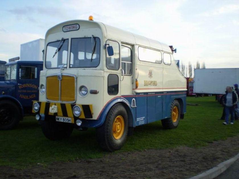 1940 AEC Matador 4x4 gun tractor bus recovery truck