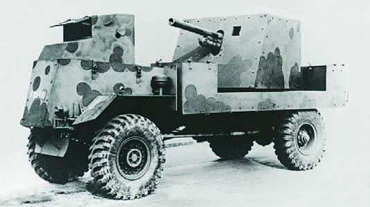 1942 AEC Matador Deacon, 4x4