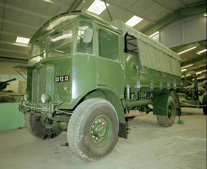 1944 AEC Matador 10 ton 4x4 medium artillery tractor,