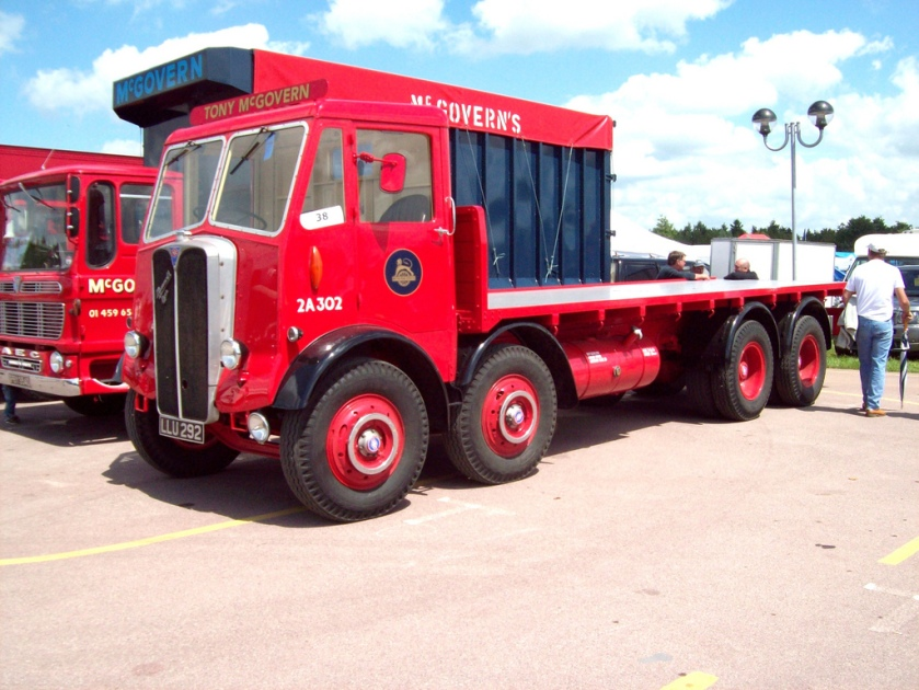 1950 AEC Mammmoth Major III Flatbed Reg.No. LLU 292