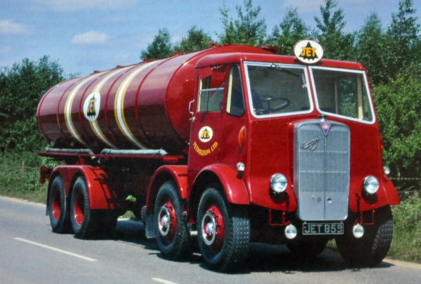 1950 AEC Mammoth Major Tanker