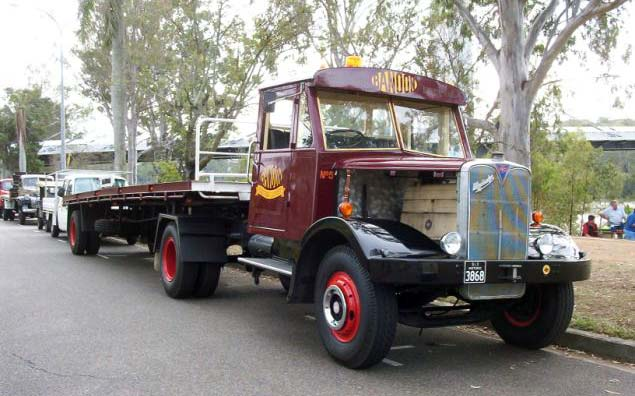 1950s AEC Mandator Prime Mover
