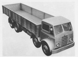1952 ACLO Mammoth Major III truck with Bonallack cab and body
