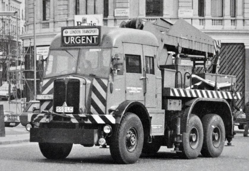 1952 AEC Militant 6 x 6 Breakdown