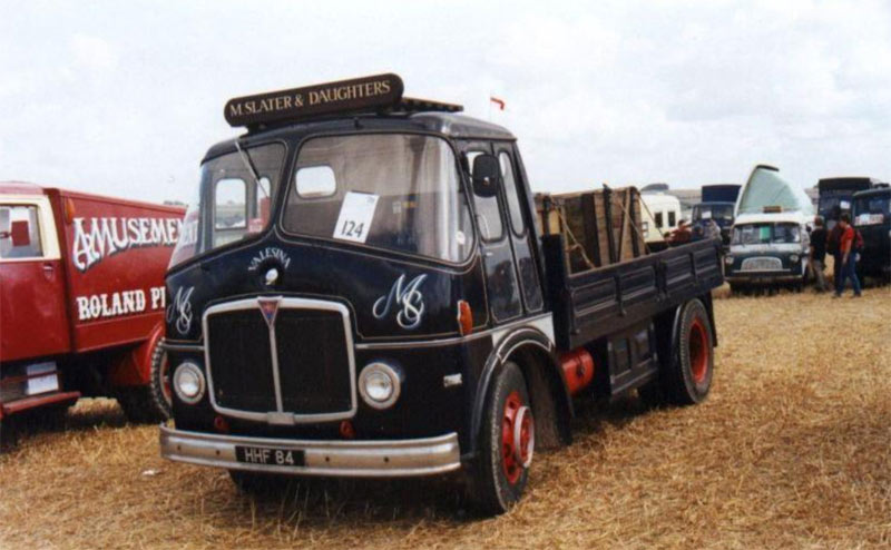 1953-1965 AEC » Mercury MkI-II ( model GM4RA ) with other cabins a