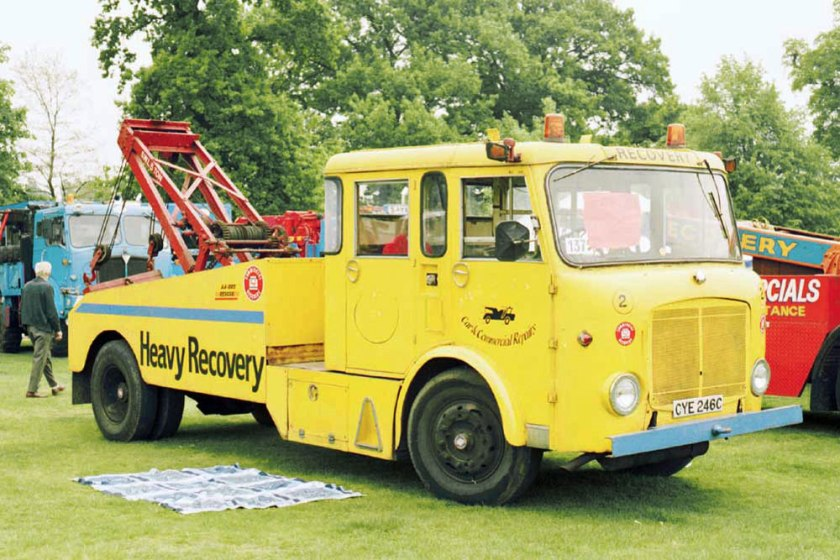 1953-1965 AEC » Mercury MkI-II ( model GM4RA ) with other cabins m