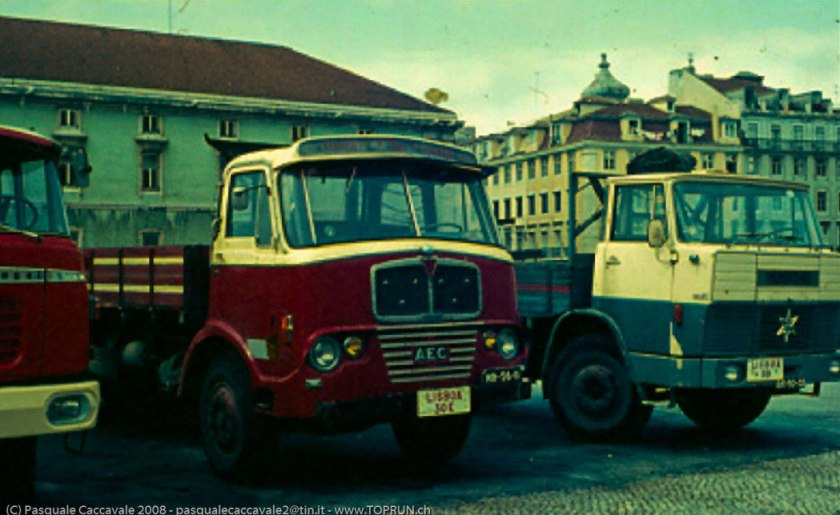 1953-1965 AEC » Mercury MkI-II ( model GM4RA ) with other cabins o