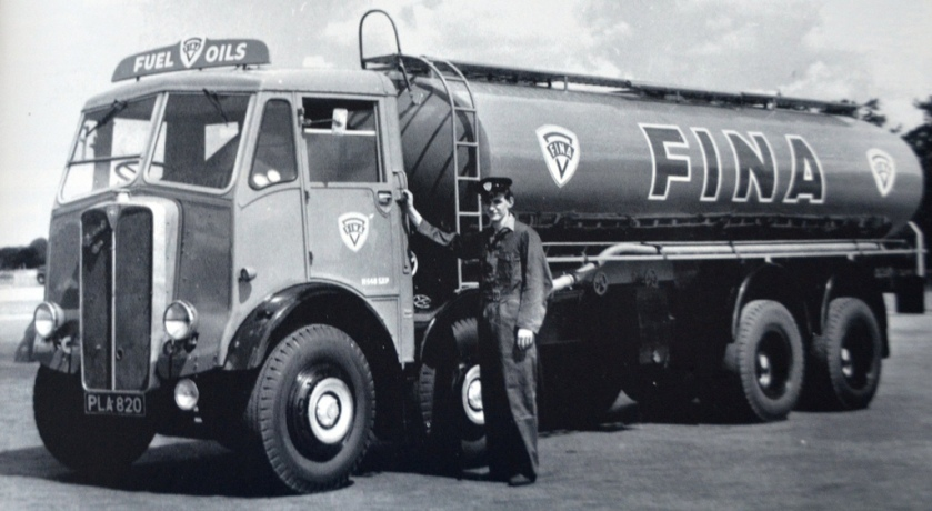 1954 AEC Mammoth Major Fina Tanker