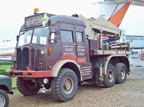 1954 AEC Militant Mk.1 Mobile Crane Engine 6113cc